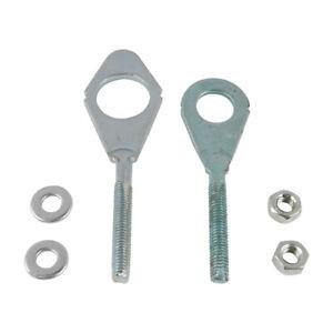 Motobike Axle Chain Adjuster Set Steel For Honda C70 CM91 CA200 CT200 CT90