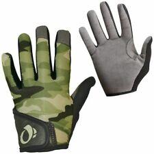 New Pearl Izumi Junior MTB Full Fingers Kids Gloves Green Camo Medium