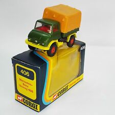 Corgi original series No 406 is the model of the Unimog 406 and tilt. VNMB