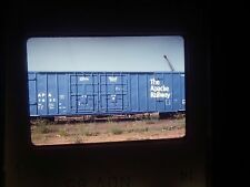 Original Slide train Yard car cargo freight Apache Depot APA box scrap 1832 line