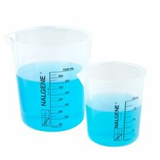 1201-0600 600 ml Nalgene Polypropylene Griffin Low Form Beaker Pack of 4