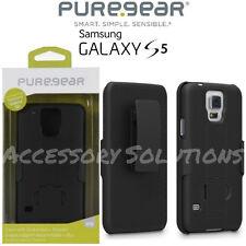 PureGear Samsung Galaxy S5 Belt Clip Shell Holster Case W/ Kickstand, 60558PG