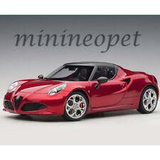 AUTOart 70142 ALFA ROMEO 4C SPIDER 1/18 MODEL CAR COMPETITION RED