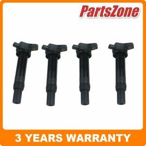 4x Ignition Coil Fit for Kia Rio JB 1.6L 2006-2011 Hyundai Accent 1.6L 2006-2009