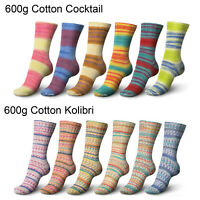 600g Set (49.92€/kg) Regia 4-Fach >> Cotton Cocktail / Kolibri << Schachenmayr