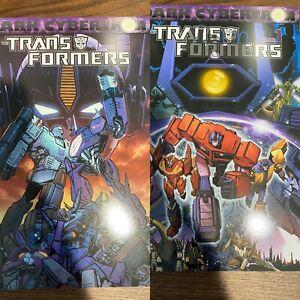 TRANSFORMERS Dark Cybertron Vol. 1 & 2 IDW Comics TPB GN SC OOP NEW UNREAD