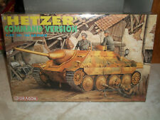Dragon 1/35 Scale German 'Hetzer' Command Version Tank - Factory Sealed