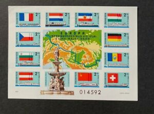 Hungary Scott 2514 MH, Mint, Hinged Imperf Cats $ 125