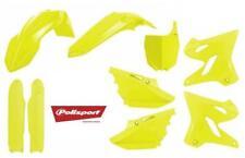 Polisport Plastic Kit Set Flo Yellow Replacement YZ125 YZ250 YZ125X YZ250X 15-20