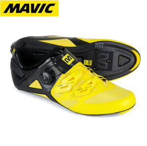 Mavic Cosmic Ultimate Carbon Cycling Shoes - Yellow