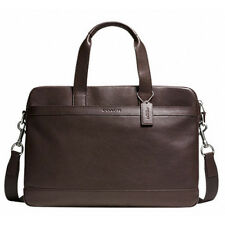 NWT AUTHENTIC MEN COACH HUDSON BAG IN SMOOTH LEATHER F71561