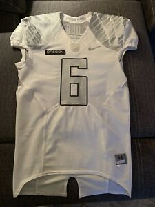 Rare Authentic Nike Oregon Ducks Game Issued Jersey Pac 12 Football