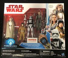 Star Wars Kohls Exclusive 4 Pack Sealed Luke Skywalker Rey Rose Stormtrooper