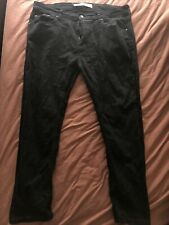 Burton Men's Jeans  Black 38S Stretch Tapered Very Good Condition