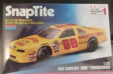 SnapTite #68 Country Time Thunderbird 1:32 Bobby Hamilton 1993 FORD T-BIRD #1094
