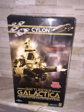 "BATTLESTAR GALACTICA LIMITED EDITION CYLON 12"" ACTION FIGURE."
