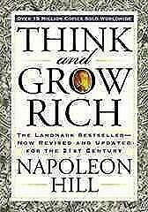 NEW Think and Grow Rich by Napoleon Hill Book Free Post AU