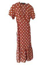 Polka dot spotty ladies dress size 8 pretty woman style boutique
