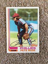 +++ PETE ROSE 1982 TOPPS BASEBALL CARD #780 - PHILADELPHIA PHILLIES +++
