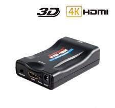 Convertitore audio e video da SCART a HDMI adattatore analogico a digitale HD