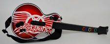 PS3 Guitar Hero Aerosmith LES PAUL LOGO WIRED GUITAR Controller Rock Band