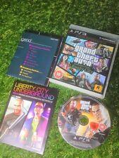 Grand THEFT AUTO: episodios de Liberty City-Playstation 3 (PS3) + Mapa Raro