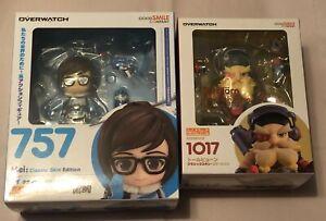 "Good Smile Nendoroid Overwatch ""Torbjorn & Mei"" Set of 2 Action Figures *NEW*"