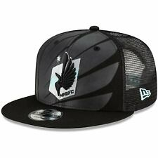 Minnesota United FC New Era Tonal Logo 9FIFTY Trucker Snapback Hat - Black