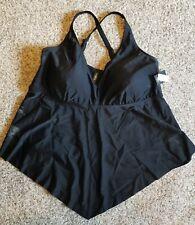 New listing Torrid Plus Black V-Neck Tankini Top Swimwear Size 3 NEW! NWT! Free Shipping