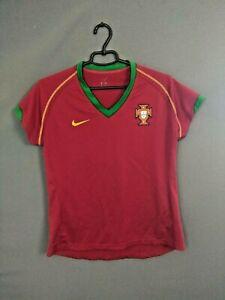 Portugal Jersey Women 2006 2008 Home Shirt Camiseta Football Soccer Nike ig93