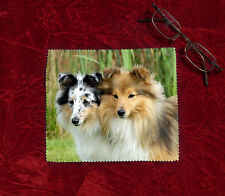 Shetland Sheepdog Dog Microfibre Glasses Camera Lens Phone Screen Cleaning Cloth
