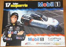 2013 Tyler McQuarrie Mobil 1 Chevy Camaro Formula Drift postcard