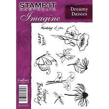Crafters Companion Stamp-It Australie A5 démontés timbres rêveuse marguerites set