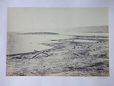 Francis FRITH, Original Fotografie 1857, The North Shore Of The Dead Sea