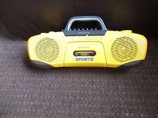 SONY BOOMBOX Rare Retro CFS-930L 1983 4 Band Radio Sports Waterproof Vintage