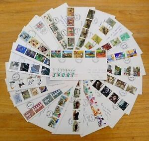 GB Stamps Collection of 20x First Day Covers - worth a look?
