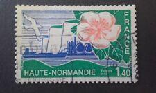 TIMBRE RÉGIONS ADMINISTRATIVES HAUTE-NORMANDIE 1978 FRANCE