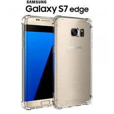 Funda Gel TPU Transparente Antigolpes para Samsung Galaxy S7 Edge