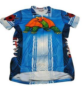Primal Wear Turtle Cycling Jersey Mens Short sleeve Medium