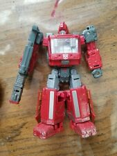 Transformers WFC Siege Ironhide Deluxe Figure War For Cybertron Loose Used