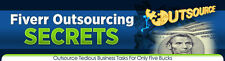 Fiverr Outsource Secrets Video Tutorials on 1 CD