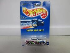 Hot Wheels Toyota MR2 Rally White w/Green #2 No 233