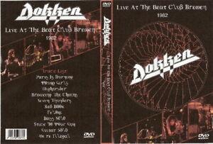 dokken live at the beat club dvd 1982 don george lynch motley crue