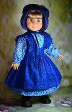 """Holiday Special"" Pioneer Dress Outfit for 18"" American Girl Doll Kirsten"