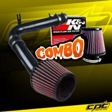 98-02 Honda Accord 3.0L V6 Black Cold Air Intake + K&N Air Filter