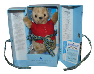 """Merrythought Mister Whoppit Bear 9"""" Limited Edition 2003/5000 Boxed"""