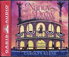 NEW Nancy Drew Diaries Riverboat Roulette Carolyn Keene Audio Book 14 CD Volume