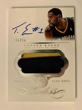 2013-14 Panini Flawless Tyreke Evans AUTO on card Patch #11/25