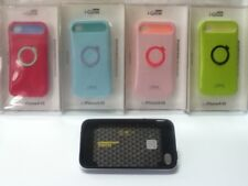 i-Glow Back Cover Case For Apple iPhone 4/4s - Two tone Pastel, Night Glow