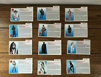 Star Wars POTF2 Power Of The Force Action Figure File Card Cutouts Vintage